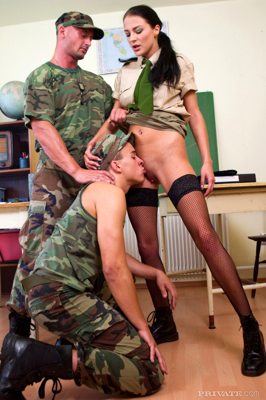 Sexy army sex with girls, nude girls was