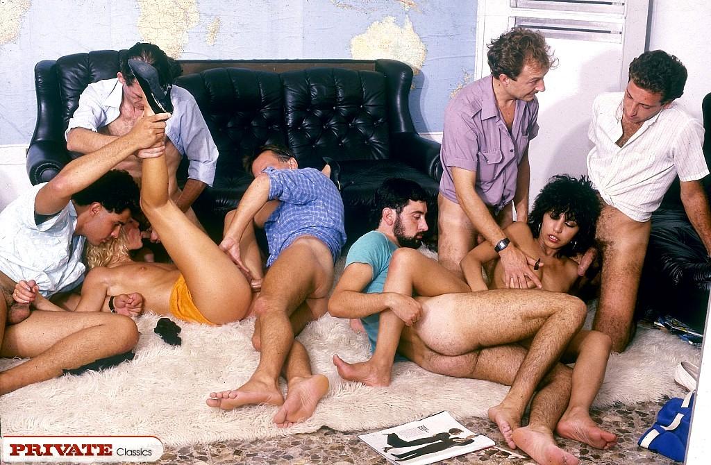фото група винтаж порно