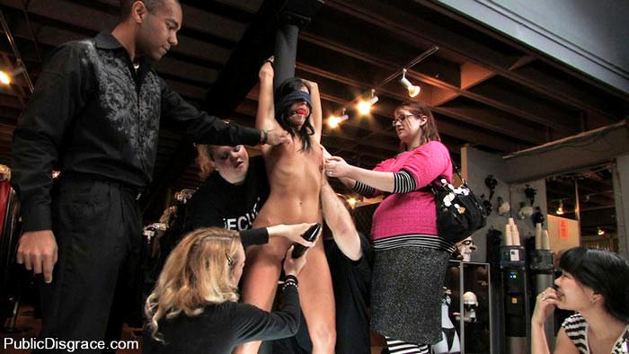 Hardcore Public Humiliation Porn
