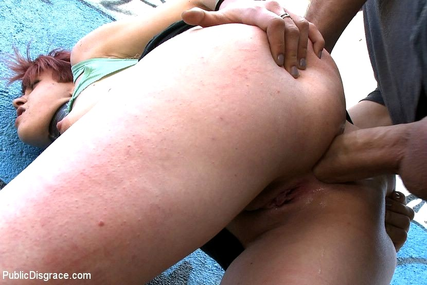 Asian woman outdoor compilation