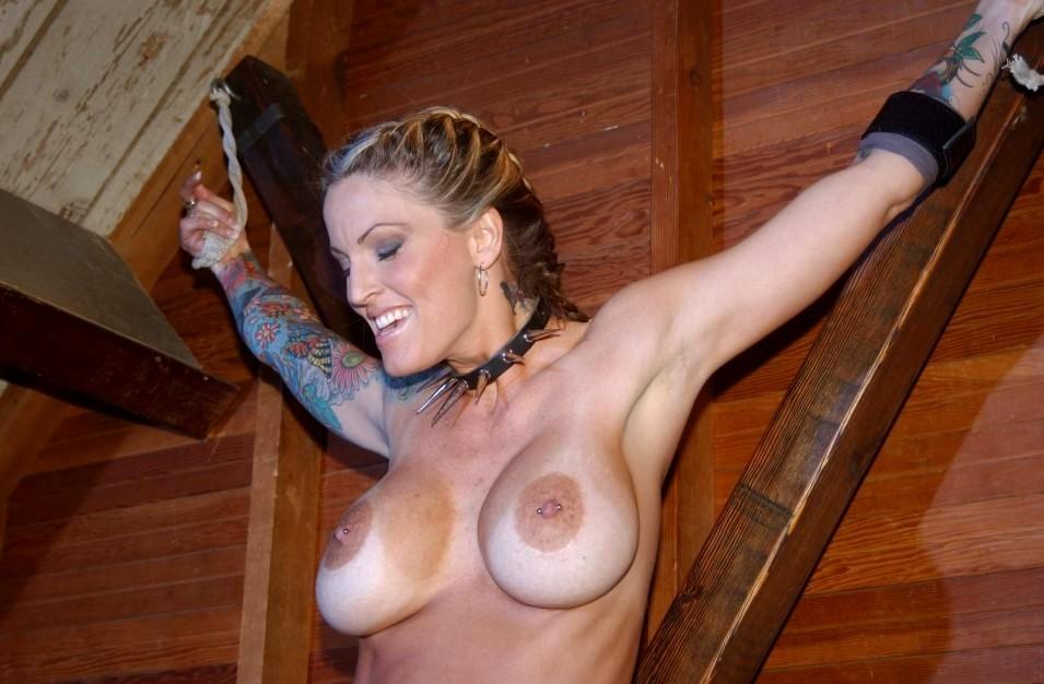 Janine lindemulder bondage scene