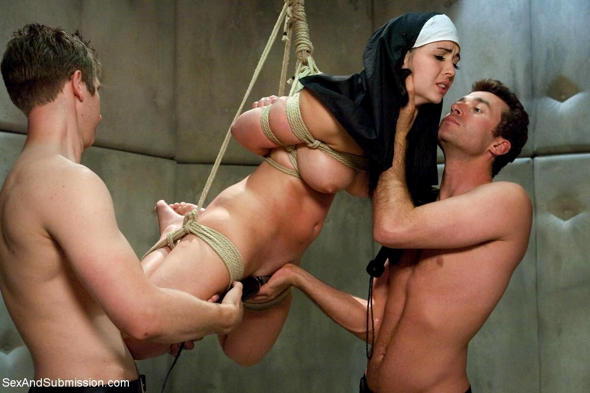 Submissive Whore Is Chained And Sexually Tortured In A Hot Bdsm Porn Photo