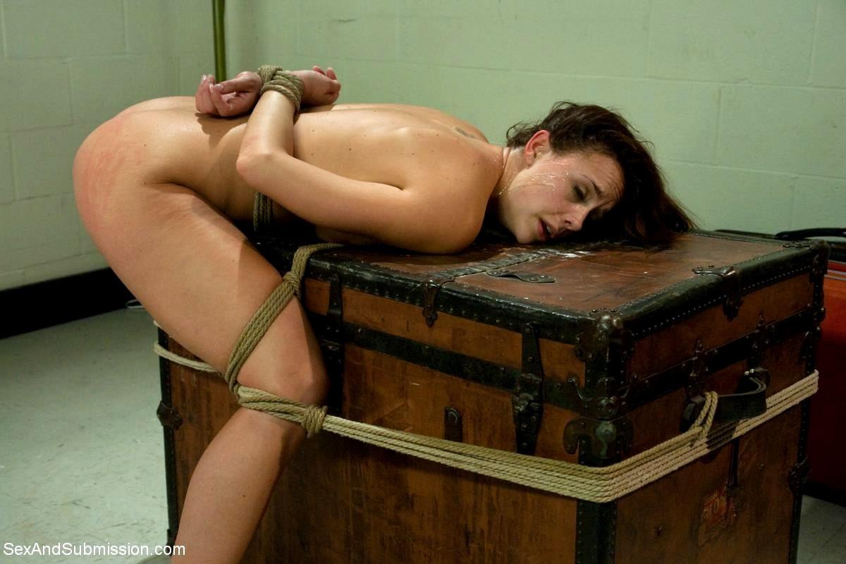 Submissive bondage sex