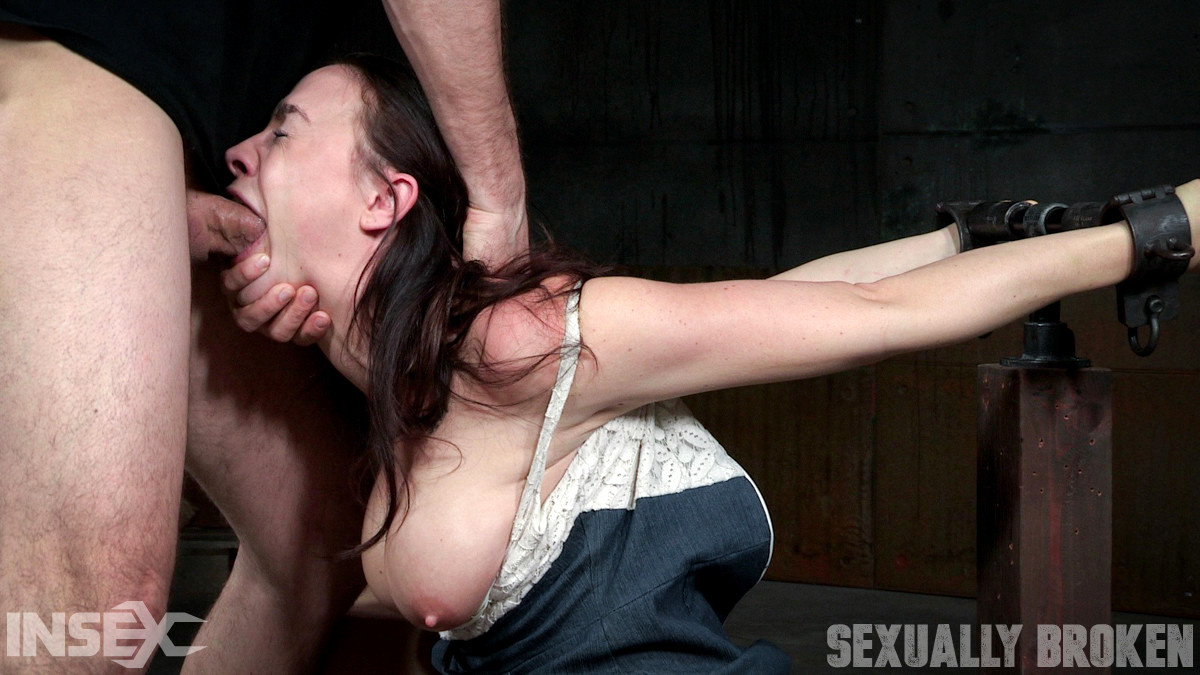 Sexually Broken Face Fucking BDSM Compilation With Wild