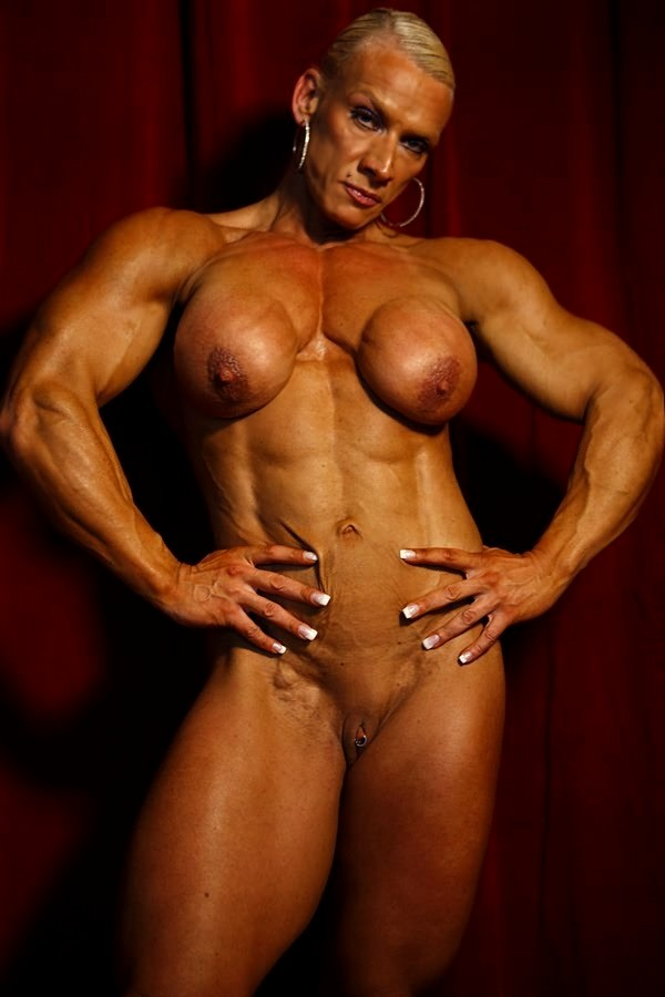 Sexy Muscle Women Naked