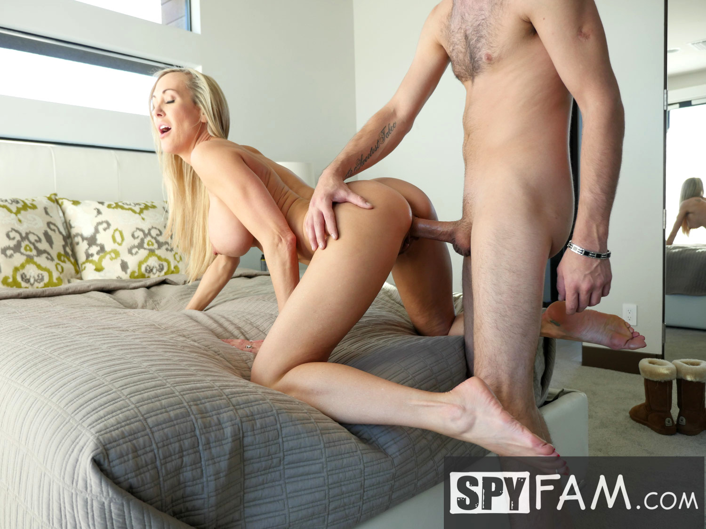 Spyfam big tit step mom brandi love fucks gamer stepson - 5 3