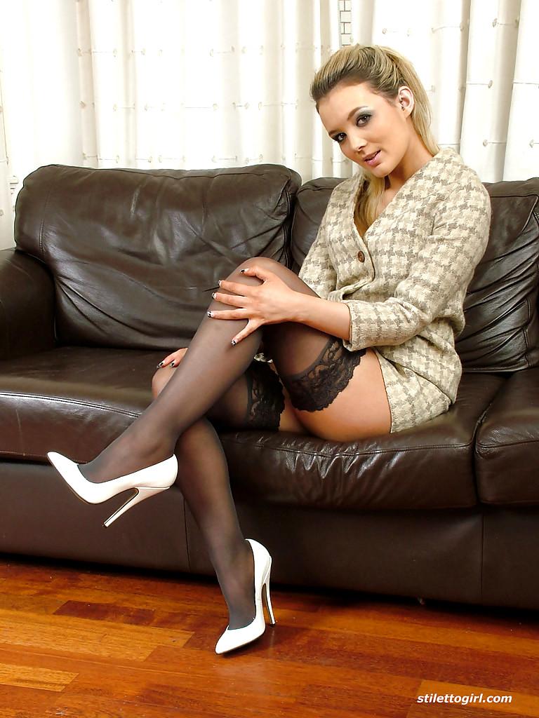 Babe Today Stiletto Girl Faye Taylor January Skirt Xxx -6438