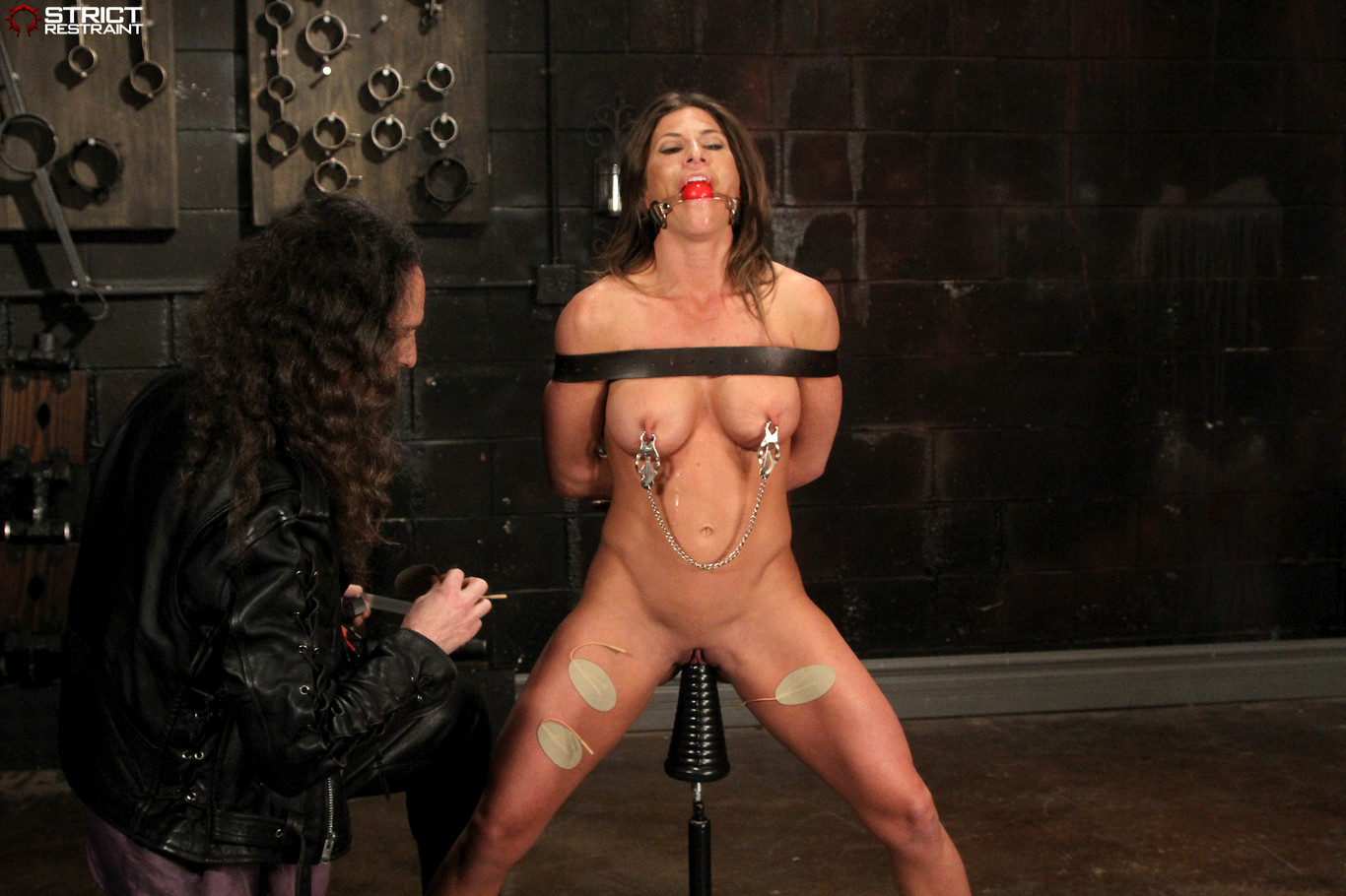 Babe Today Strict Restraint Ariel X Natural Bdsm Sex -4641