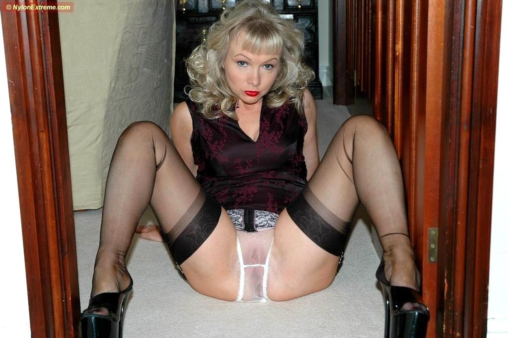 Eva angelina stockings