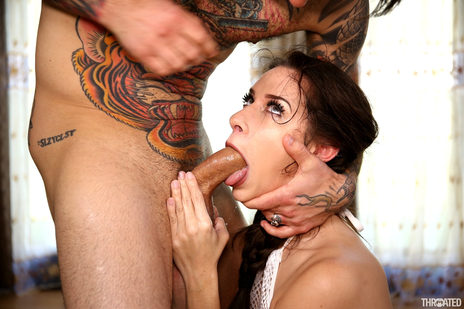 image Throated cassidy klein is back for more gagging