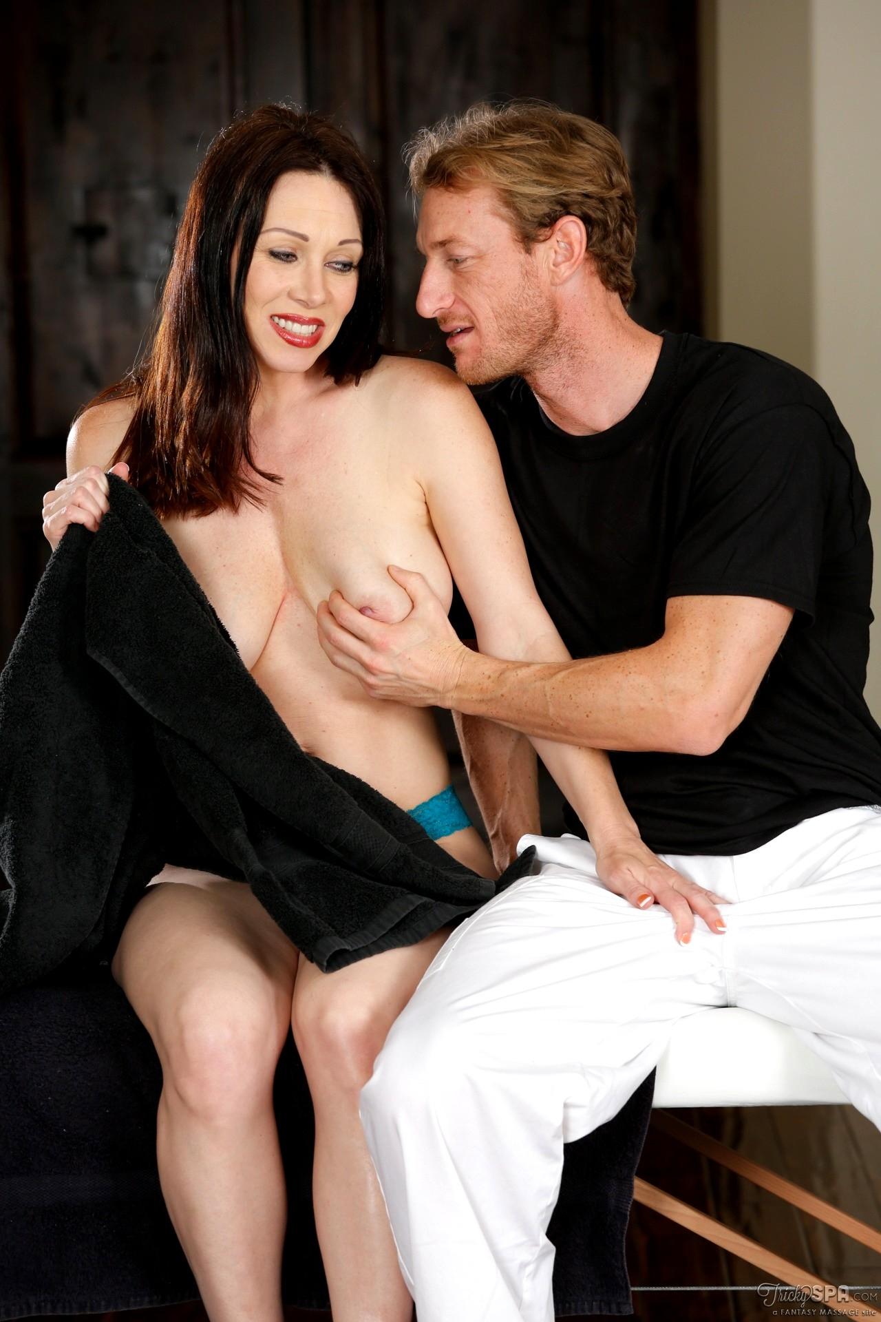 Naughty Family. japanese tricky massage