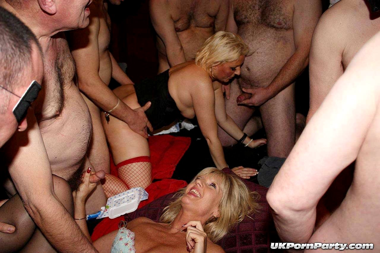 British sex party porn pics