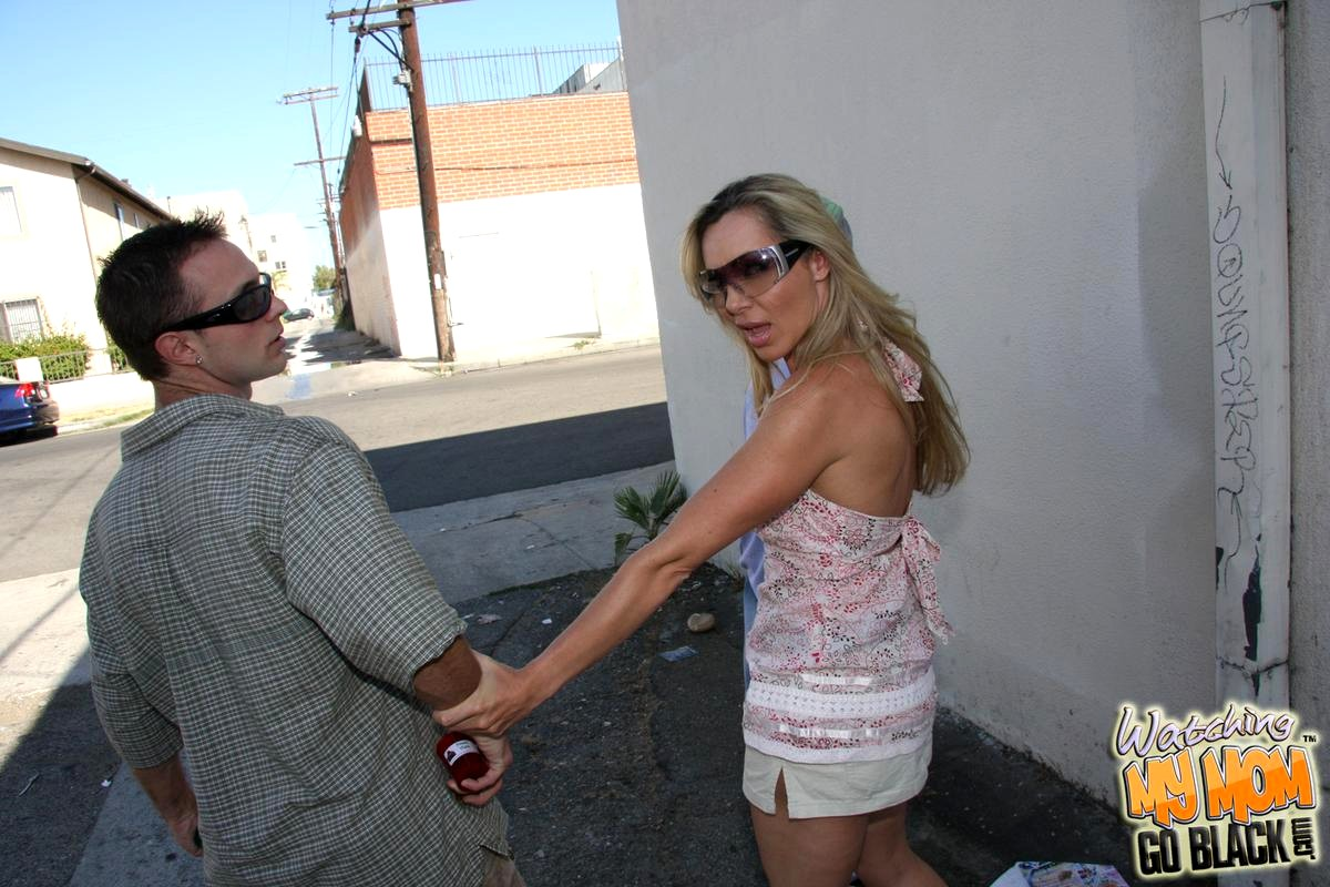 Hot woman and monster cock