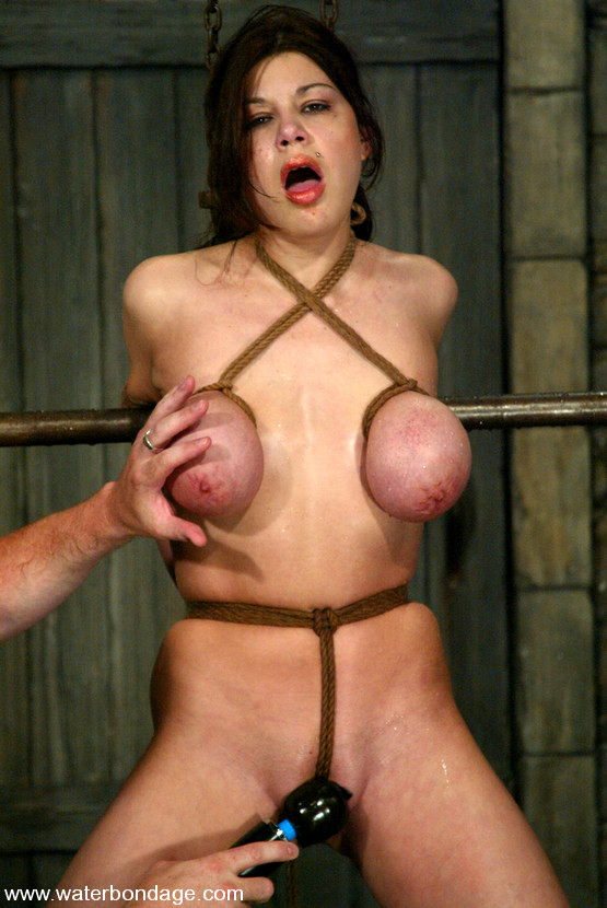 Tied And Masturbated, Butterfly Knots Bondage