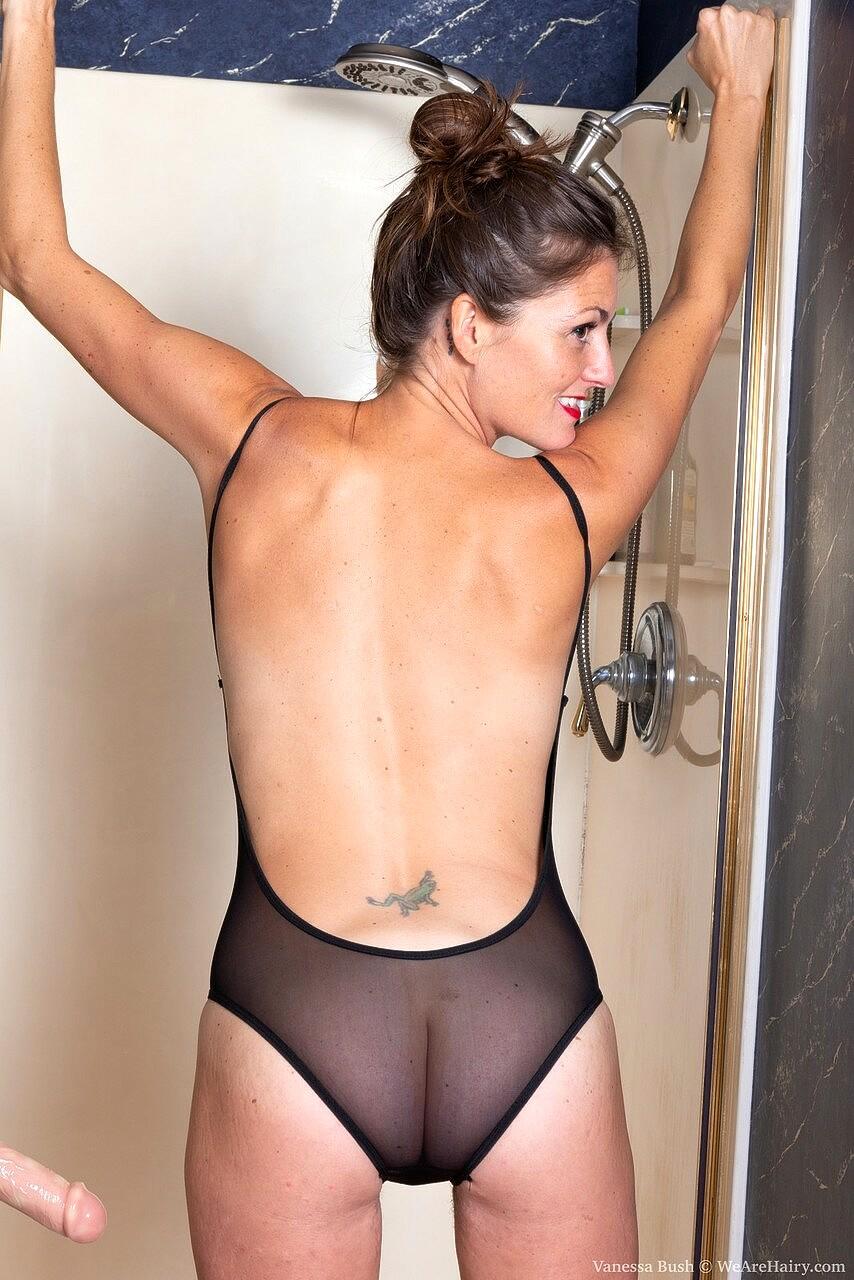 Babe Today We Are Hairy Vanessa Bush Master Tiny Tits -7748