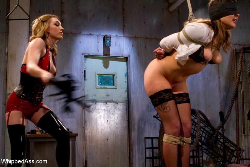 Babe Today Whipped Ass Lily Labeau Ginger Gates Many Bdsm -4750