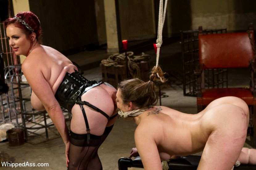 Lesbians enjoy spanking and domination in rough whipped ass photo tnaflix porn pics