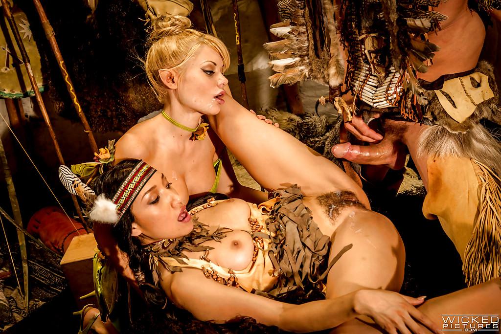 Порно в индейских племях